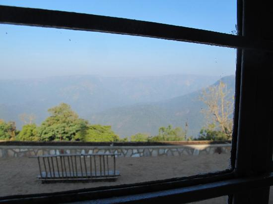 Cherrapunjee Holiday Resort: View from my window at the resort