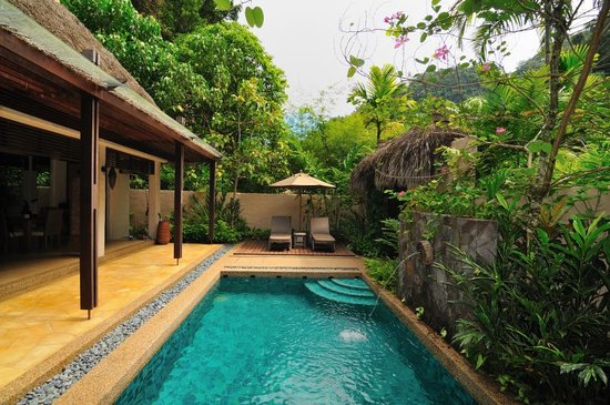 The Banjaran Hotsprings Retreat: room pool