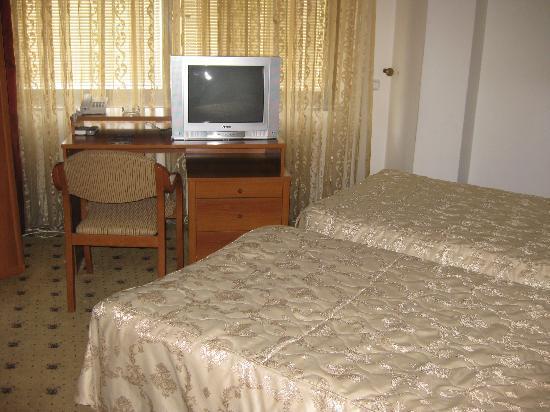 Hotel Aristocrat & Fish Restaurant : My room