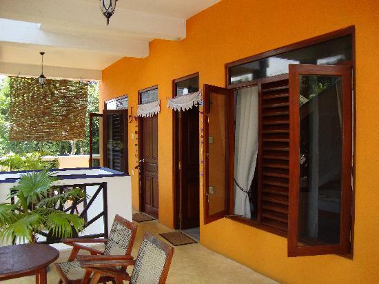 Black Beauty Guesthouse: Terrace