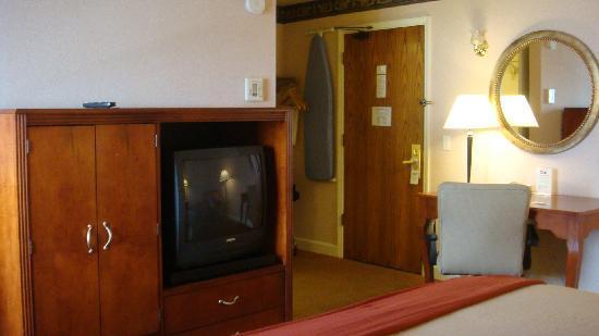 Hotel Aria: Looking towards the door