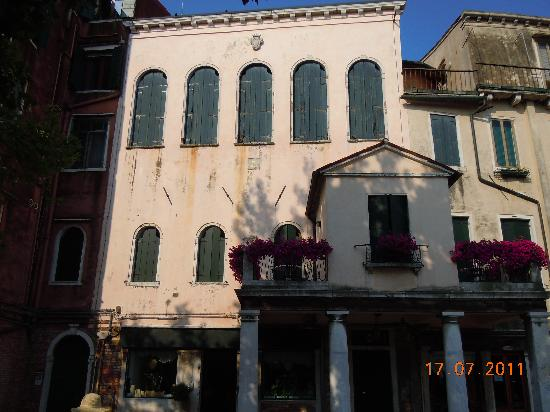 Locanda del Ghetto; Just as it appears in Venice Connected