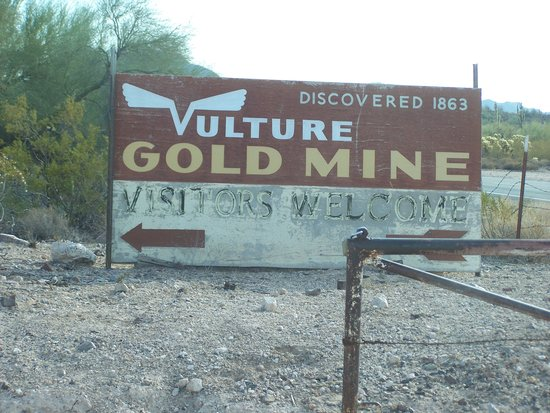 Vulture Gold Mine: Main Entrance