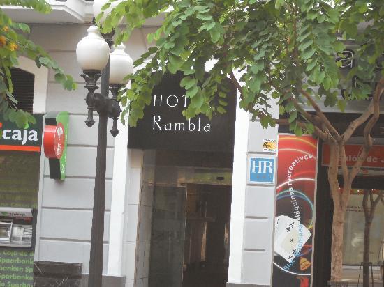 Hotel Rambla: Hotel entrance