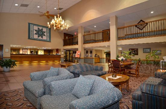 Comfort Inn at Thousand Hills: Lobby