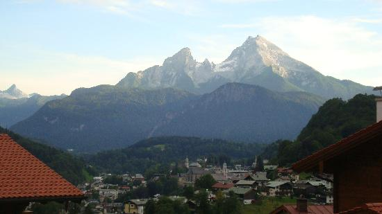 Pension Kropfleiten: View from hotel