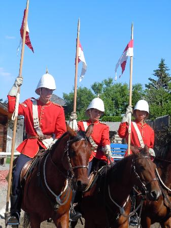 Fort Macleod, Canada: The NWMP Musical Ride
