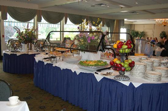 Radnor Hotel: Breakfast Buffet
