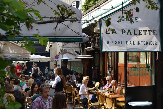 Photo of French Restaurant La Palette at 43 Rue De Seine, Paris 75006, France