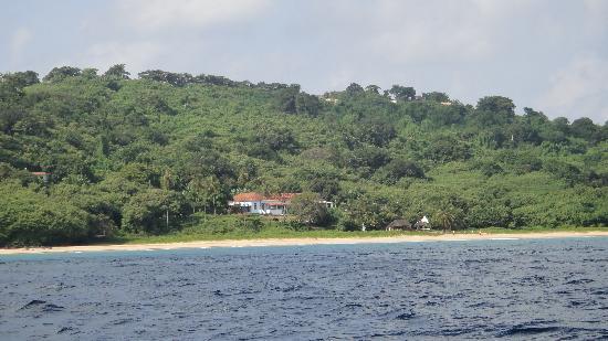 Joab's House: Casa vista do mar