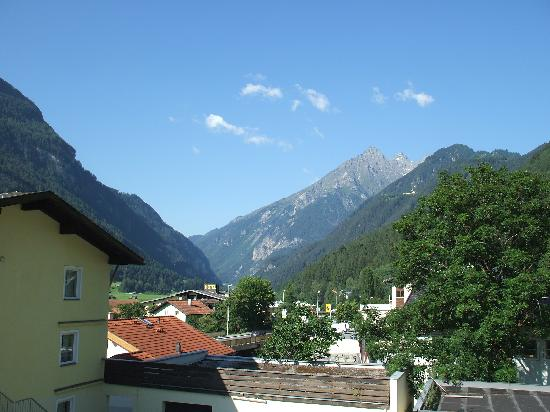 Edelweiss: View from our balcony
