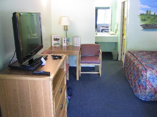 Mears, MI: Extremely clean and comfortable room