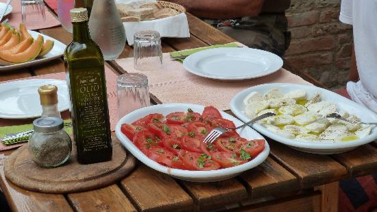 Podere Vignali: Eindruck Mittagessen