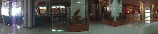 Lydia Hotel : Bar, Lobby and Reception