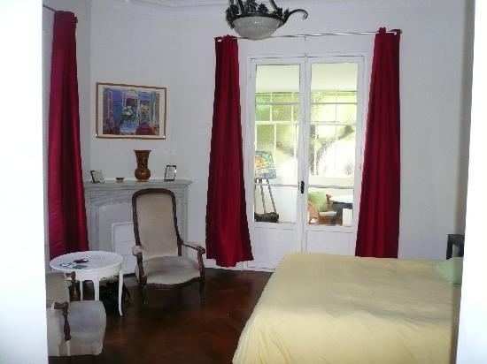 Hotel Villa les Cygnes : La chambre no 3
