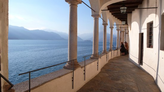Leggiuno, Italy: l'ingresso dell'Eremo