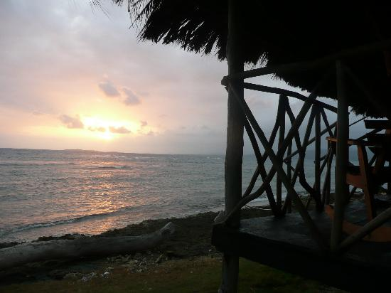Yandup Island Lodge: Sonnenaufgang