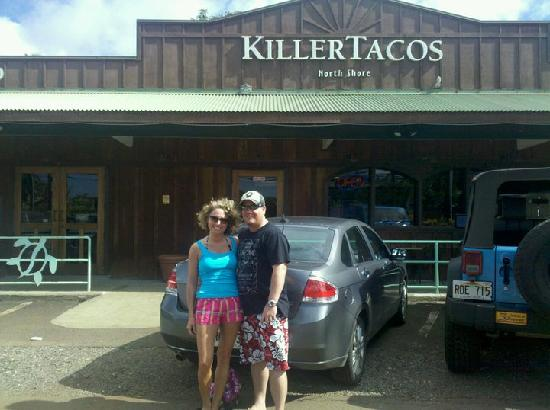 Killer Tacos Incorporated : In front of Killer Tacos