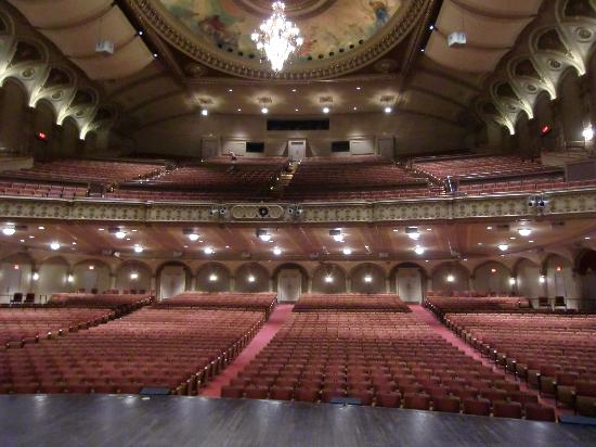 Orpheum Theatre : View of the theatre from the stage.