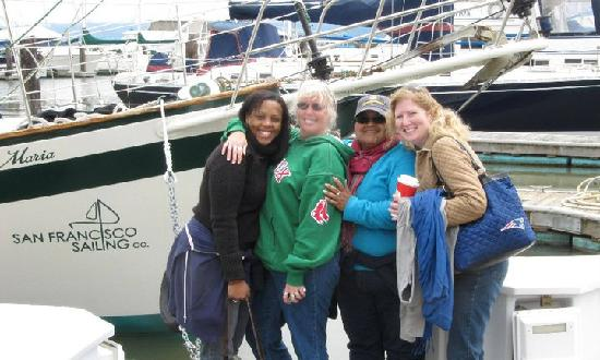 San Francisco Sailing Company: 4 Friends going Sailing ship was Santa Maria