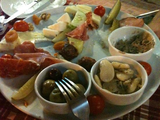 CapuVino : A mixed platter - mostly devoured!!!
