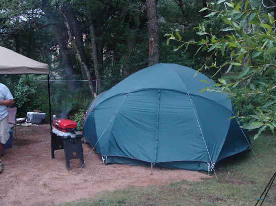 Lone Duck Campground: Tent Site 27