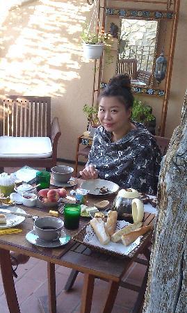 Le Petit Jardin : fantastic breakfast...i'm very happy^^
