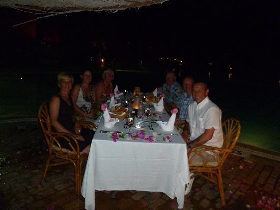 Park Inn by Radisson Sharm El Sheikh Resort: candle dinner fantastic