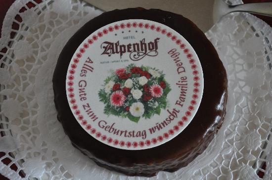 Hotel Alpenhof Hintertux: Und das gabs auch noch...