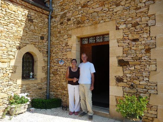 Domaine des Mathivies: Dominique et Philippe, les hôtes