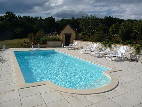 Domaine des Mathivies: La piscine