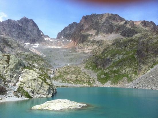 le lac Blanc, Parc des Aiguilles Rouges