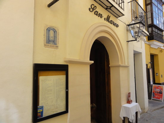 San Marco : entrance