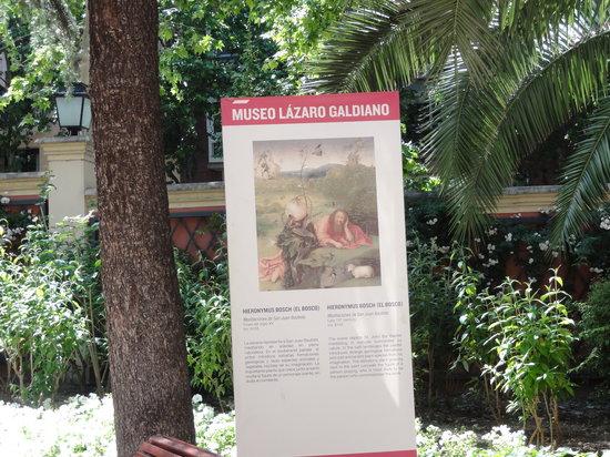 Museo Lazaro Galdiano : entrance