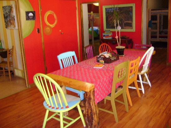 The Wanderlust Hostel: Dining Room
