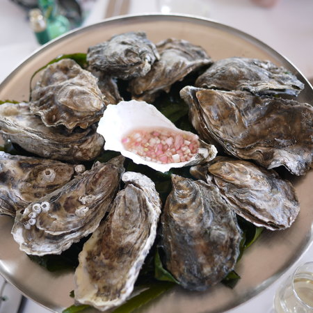 Hix Oyster & Fish House : A dozen of your finest British oysters please my good man