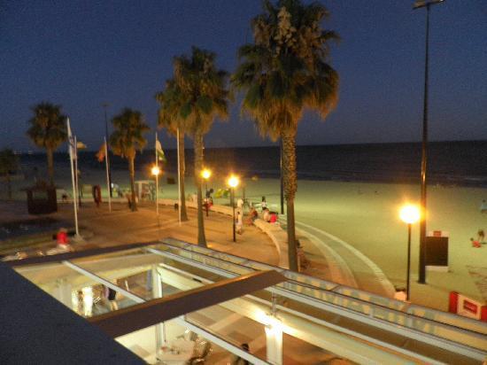 Hotel Lepemar Playa: desde la terraza común con amacas