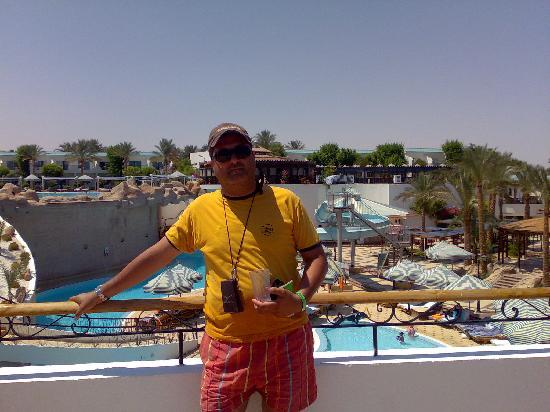 Sultan Gardens Resort: view of my room