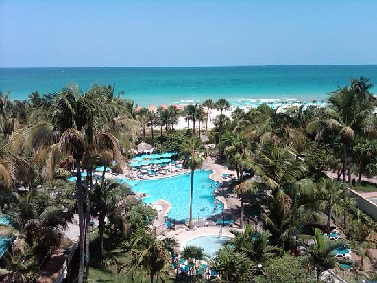 Hotel Riu Plaza Miami Beach: The Riu - SoBe...view from my room...awesome!