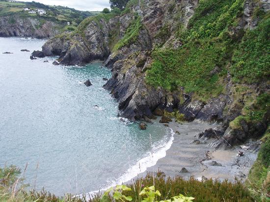 Pensport Rock B&B : The coastal path walk