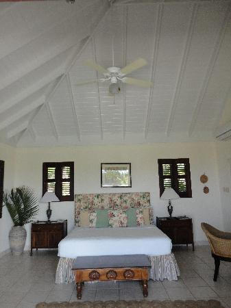 Ottley's Plantation Inn : Ceiling fans work great, but AC if you want it.