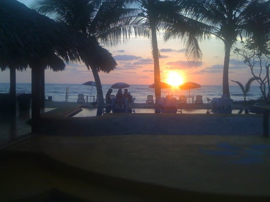 Troncones, Mexico: Beautiful sunset view