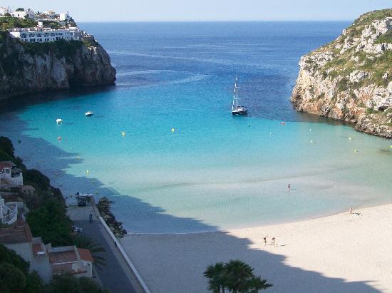 Hotel Playa Azul: the beach from my room