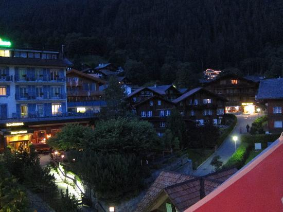 Hotel Bernerhof & Residence: Night time from our balcony