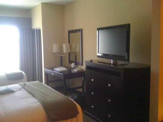 Holiday Inn Express Hotel & Suites Durant: tv