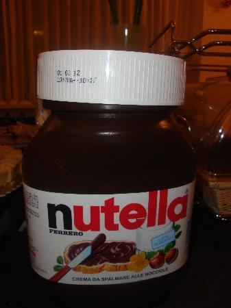 breakfast never seen a jar of nutella this big before picture of