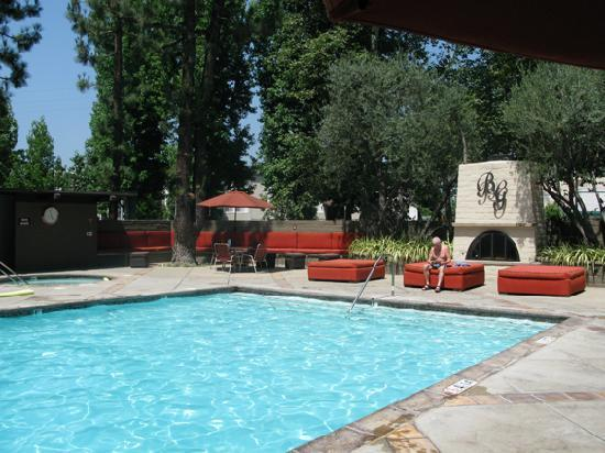 Beverly Garland Holiday Inn Pool - Picture of The Garland ...