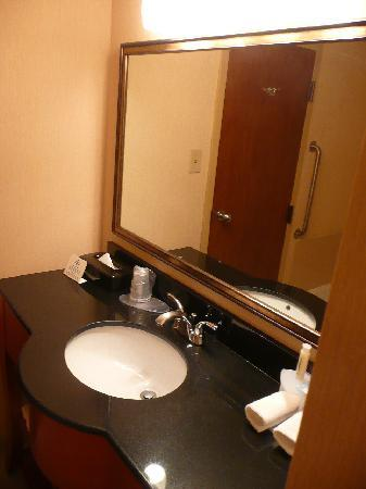 Holiday Inn Express Hotel & Suites-DFW North: Bath