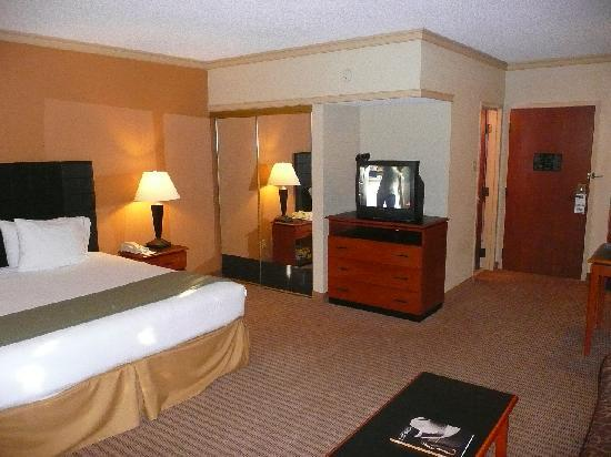Holiday Inn Express Hotel & Suites-DFW North: TV