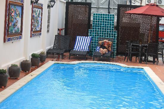 Yeng Keng Hotel: My Yeng Keng  pool